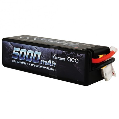 Аккумулятор Gens Ace Li-PO 11,1 В 5000 мАч 50C