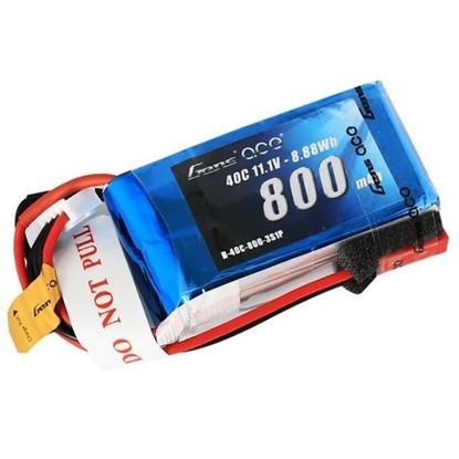 Аккумулятор Gens Ace Li-PO 11,1 В 800 мАч 40C