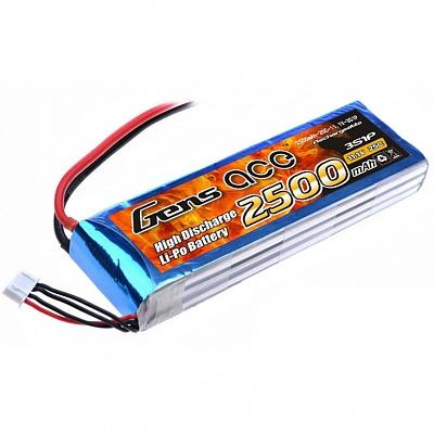 Аккумулятор Gens Ace LiPO 11,1 В 2500 мАч 3S 25C