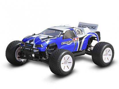 Автомобиль HPI Maverick STRADA XT EVO 4WD EL Truggy 1:10 (Blue RTR Version)