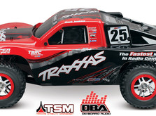 Автомобиль Traxxas Slash 4x4 Ultimate PRO Short Course 1:10 RTR 4WD TSM OBA WiFi-фото 4