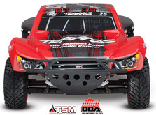 Автомобиль Traxxas Slash 4x4 Ultimate PRO Short Course 1:10 RTR 4WD TSM OBA WiFi-фото 5