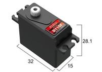 Сервопривод мини 19г BATAN D115F 4.0кг/0.12сек цифровой