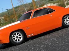 Автомобиль HPI Sprint 2 Sport 1969 Chevrolet Camaro 4WD 1:10 EP 2.4GHz (RTR Version)-фото 5
