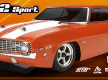 Автомобиль HPI Sprint 2 Sport 1969 Chevrolet Camaro 4WD 1:10 EP 2.4GHz (RTR Version)-фото 6