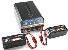 Зарядное устройство дуо SkyRC PC1080 20A/1080W с блоком питания, универсальное-фото 1