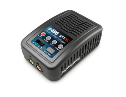 Зарядное устройство SkyRC e450 4A/50W с блоком питания для Li-Pol/Ni-MH аккумуляторов