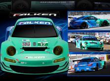Автомобиль HPI Sprint 2 Sport Falken Porsche 911 GT3 RSR 4WD 1:10 EP (RTR Version)-фото 4