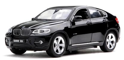 Машинка на радиоуправлении Meizhi BMW X6 в масштабе 1:24