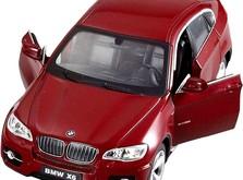 Машинка на радиоуправлении Meizhi BMW X6 в масштабе 1:24-фото 4