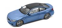 Модель автомобиля BMW M4 Купе (F82) масштаб 1:18