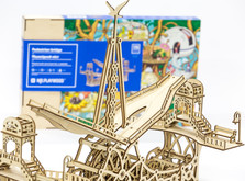 Деревянный конструктор Пешеходный Мост-фото 2