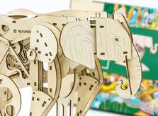 Деревянный конструктор Слон-фото 2
