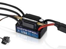 Бесколлекторный регулятор HOBBYWING SEAKING V3 120A 2-6S для судомоделей-фото 1