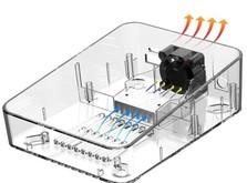 Интеллектуальное зарядное устройство ISDT C4 AC 100-240 DC 12-24 В 8 A 25 Вт с блоком питания-фото 3