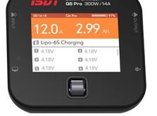 Зарядное устройство ISDT Q6 Pro DC 7-32 В 15 A 300 Вт 1-6S XT60-фото 1