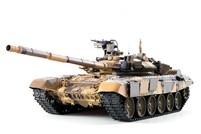 Танк на радиоуправлении Heng Long T-90 с пневмопушкой и инфракрасным блоком. (Upgrade version) Масштаб 1:16