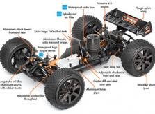 Автомобиль HPI Trophy 4.6 Nitro Truggy 4WD 1:8 2.4GHz (RTR Version)-фото 3