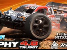 Автомобиль HPI Trophy 4.6 Nitro Truggy 4WD 1:8 2.4GHz (RTR Version)-фото 4