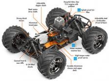 Автомобиль HPI Bullet ST 3.0 Nitro 4WD 1:10 2.4GHz (RTR Version)-фото 5