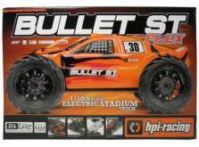 Автомобиль HPI Bullet ST 3.0 Nitro 4WD 1:10 2.4GHz (RTR Version)-фото 4