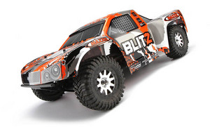 Автомобиль HPI Blitz Scorpion 2WD 1:10 EP 2.4GHz (Black/Orange RTR Version)
