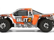Автомобиль HPI Blitz Scorpion 2WD 1:10 EP 2.4GHz (Black/Orange RTR Version)-фото 2