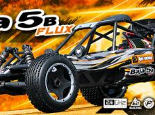 Автомобиль HPI Baja 5B Flux 4WD Baggy 1:5 2.4GHz (RTR Version)-фото 4