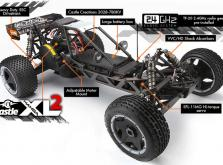 Автомобиль HPI Baja 5B Flux 4WD Baggy 1:5 2.4GHz (RTR Version)-фото 2