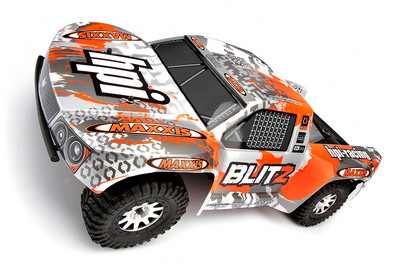 Автомобиль HPI Blitz Scorpion 2WD 1:10 EP 2.4GHz (Silver/Orange RTR Version)