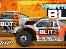 Автомобиль HPI Blitz Scorpion 2WD 1:10 EP 2.4GHz (Silver/Orange RTR Version)-фото 3