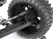Автомобиль HPI Blitz Scorpion 2WD 1:10 EP 2.4GHz (Silver/Orange RTR Version)-фото 4