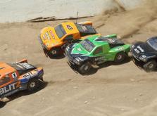 Автомобиль HPI Blitz Scorpion 2WD 1:10 EP 2.4GHz (Silver/Orange RTR Version)-фото 6