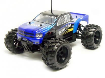Автомобиль HSP Knight Off-road Truck 4WD 1:18 EP (Blue RTR Version)