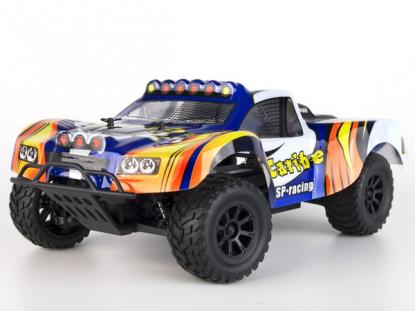 Автомобиль HSP Caribe Short Course Truck 4WD 1:18 EP (Blue RTR Version)