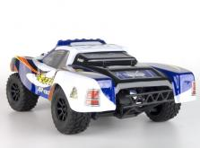 Автомобиль HSP Caribe Short Course Truck 4WD 1:18 EP (Blue RTR Version)-фото 1