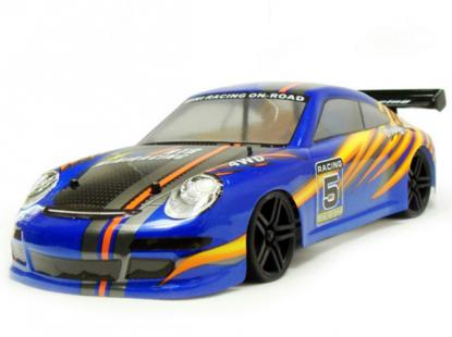 Автомобиль HSP Magician Touring Car 4WD 1:18 EP (Blue RTR Version)