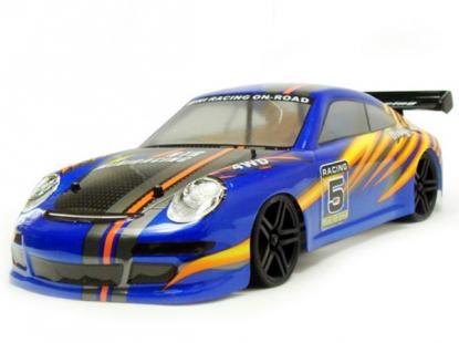 Автомобиль HSP Magician Touring Car 4WD 1:18 EP (Blue RTR Version)