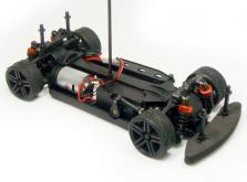 Автомобиль HSP Magician Touring Car 4WD 1:18 EP (Blue RTR Version)-фото 2