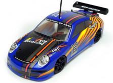 Автомобиль HSP Magician Touring Car 4WD 1:18 EP (Blue RTR Version)-фото 1