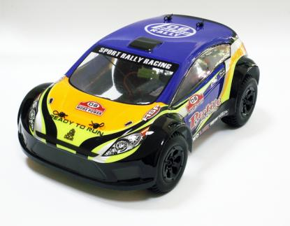 Автомобиль HSP Reptile Rally Car 4WD 1:18 EP (RTR Version)